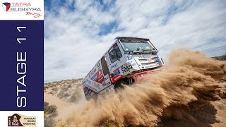TATRA BUGGYRA RACING on DAKAR 2017 - Stage 11