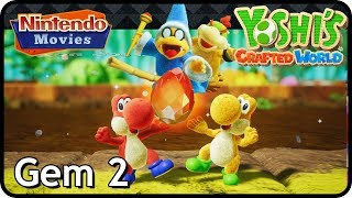 Yoshi's Crafted World - Gem 2 (2 Players)