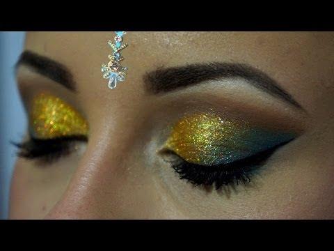 ♕ Праздничный макияж   Макияж с блестками   Holiday makeup ♕