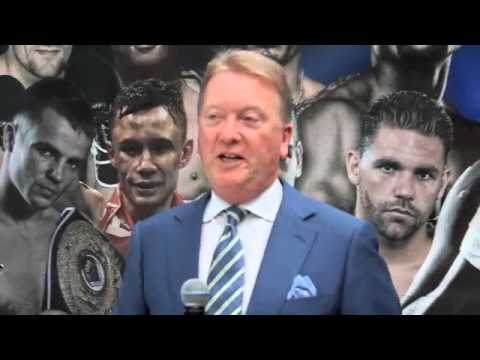 FRANK WARREN GIVES HIS 'NO HOLDS BARRED' 3 YEAR BOXNATION ANNIVERSARY SPEECH
