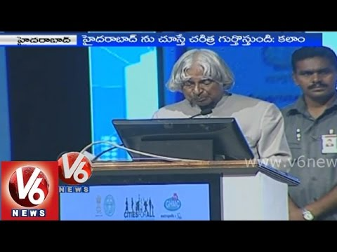 Apj Abdul Kalam Speech At Metropolis Conference 2014 - Hyderabad video