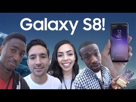 Samsung Galaxy S8: YouTubers REACT!