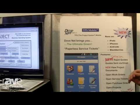 InfoComm 2014: Dove Net Features The Project System and TPS Moble