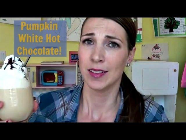 Pumpkin White Hot Chocolate FRIDAY!