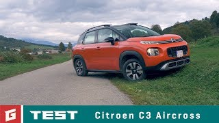 Citroen C3 Aircross - TEST - GARAZ.TV -  Rasto Chvala