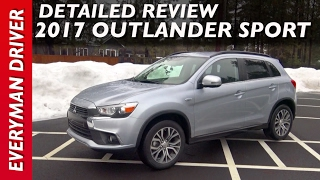 Here's the 2017 Mitsubishi Outlander Sport on Everyman Driver