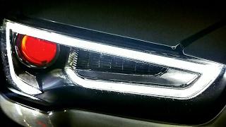 Evo X Audi A5 Replica Headlights with Demon Eye Review