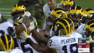 2015 Michigan vs. Minnesota Highlights