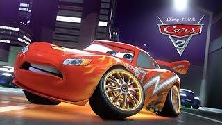 Disney Pixar Cars 2 Full Movie-Based Game in English - Lightning McQueen Walkthrough by 2k Cartoons