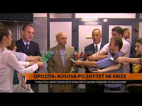 Opozita: Kosova po zhytet në krizë - Top Channel Albania - News