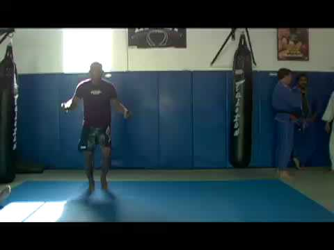 Jacare trains at Beverly Hills Jiu Jitsu Club Image 1