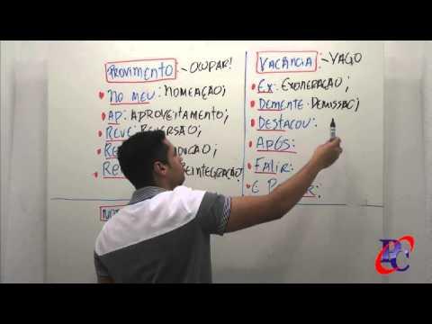 Direito Administrativo - LC 840/2011: Provimento e Vacância