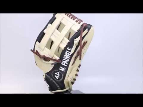 "44 Pro Custom Baseball Glove Classic Series ( C2 ) Bone Brown Black 13"" H web"