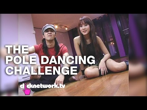 Paul and Kay Kay face off in a pole dancing challenge! Watch and vote for who you think did better!
