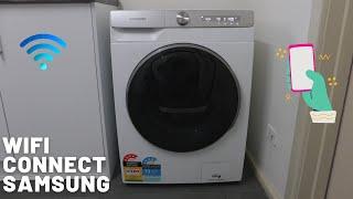 01. Wifi Samsung AI Smart Things Washing Machine Setup 2021