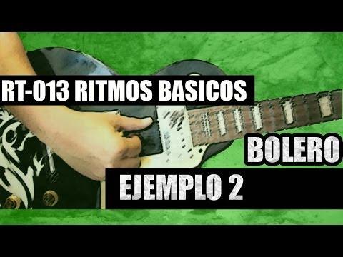 RT-013 BOLERO - RITMO 2