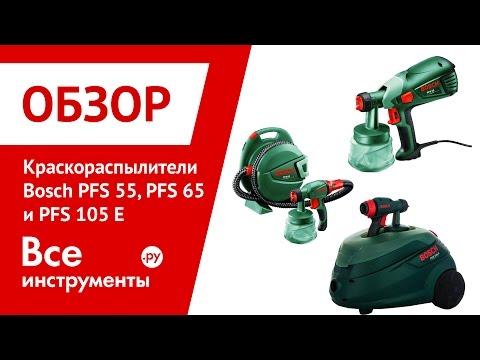Краскопульт Bosch Pfs 55 Инструкция