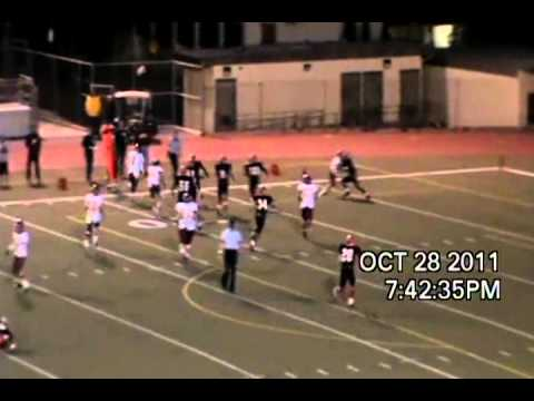Jake Medel 2011 Arcadia High School Football Highlight