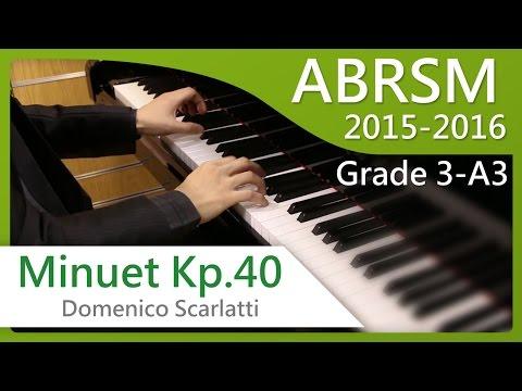 Скарлатти Доменико - Minuet 1