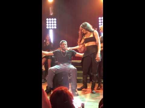 Ciara Gives Fan A Lap Dance - Jackie Tour