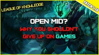 ✔ OPEN MID? - Why you shouldn