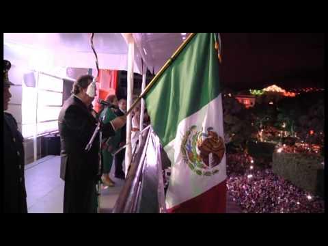 GRITO DE LA INDEPENDENCIA GOBERNADOR AGUIRRE, EN CHILPANCINGO