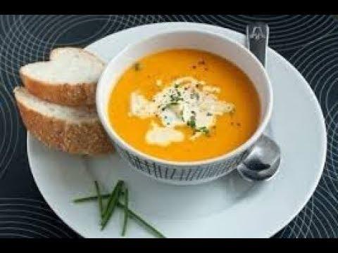 Как приготовить тыквенный крем суп с картофелем и курицей