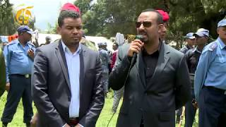 PM Abiy Ahmed visits Buraye displaced