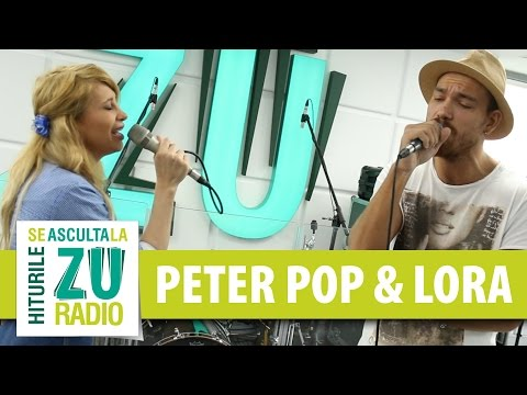 Peter Pop si Lora - Singuri in doi (Live la Radio ZU)