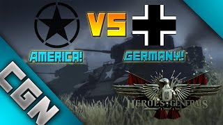 Heroes & Generals | America VS Germany | Best Free To Play WW2 Game