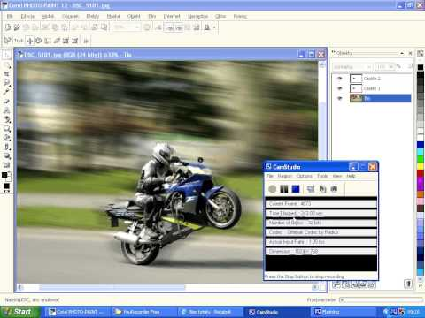 tutorial motor corel photo-paint 12 ckp