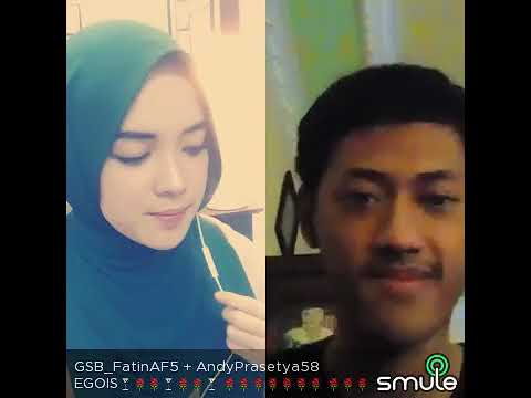 Egois Lesti Cover Smule Fatin Ft Andy