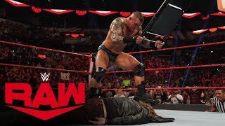 Randy Orton unleashes a ruthless steel chair assault on Edge: Raw, Jan. 27, 2020