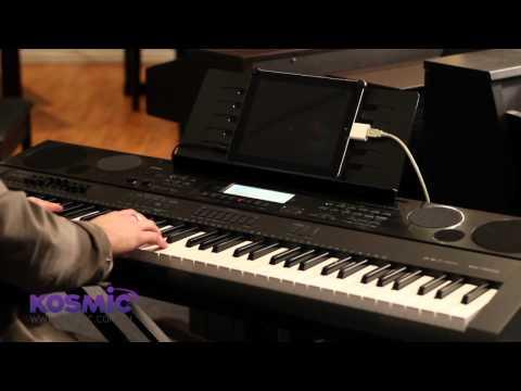 Casio WK-7500 Keyboard at Kosmic
