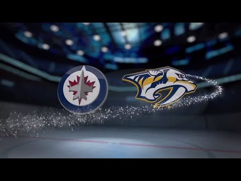 Winnipeg Jets vs Nashville Predators - November 20, 2017 | Game Highlights | NHL 2017/18.Обзор матча