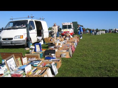 Tansley Car Boot Sale from Derby, A HD driving time-lapse video made from 2429 photographs