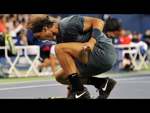 RAFAEL NADAL  Top 5 Celebrations (HD)
