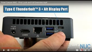 New Intel NUC 10th Gen NUC10i3FNK First Look-Simply NUC