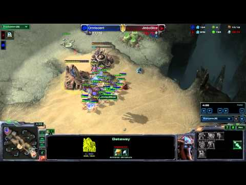 SeKo Starcraft Rage - Taking Out My Frustrations On The Unfortunate - Gold League SC2 HOTS