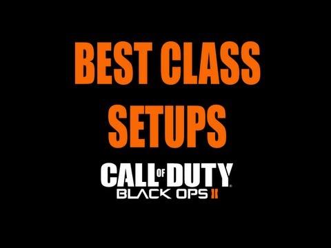Black Ops 2 - Best Class Setups