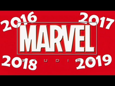 Marvel Sets Release Dates Through 2019