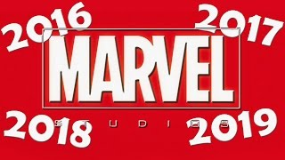 [Marvel Sets Release Dates Through 2019] Video