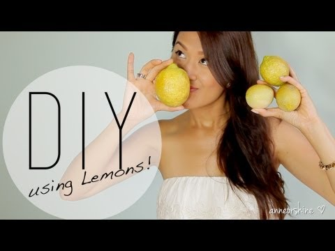 3 Beneficial Beauty DIY Using Lemons - How to Natural Deodorant / Acne Mask by ANNEORSHINE