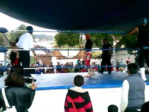 Lucha Libre en San Luis Obispo Toluca