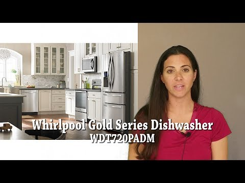 Whirlpool Gold Series Dishwasher WDT720PADM