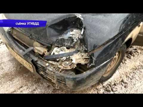 Обзор аварий. ДТП в Костино на улице Сиреневой, 3 пострадавших. Место происшествия 17.11.2017