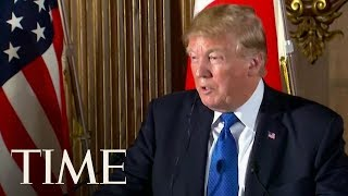 """President Trump Calls Texas Shooting A """"Mental Health Problem At The Highest Level"""" 