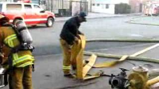 DEVASTATING FIRE - CITY OF VERNON - CALIFORNIA - DECEMBER 8TH 2007