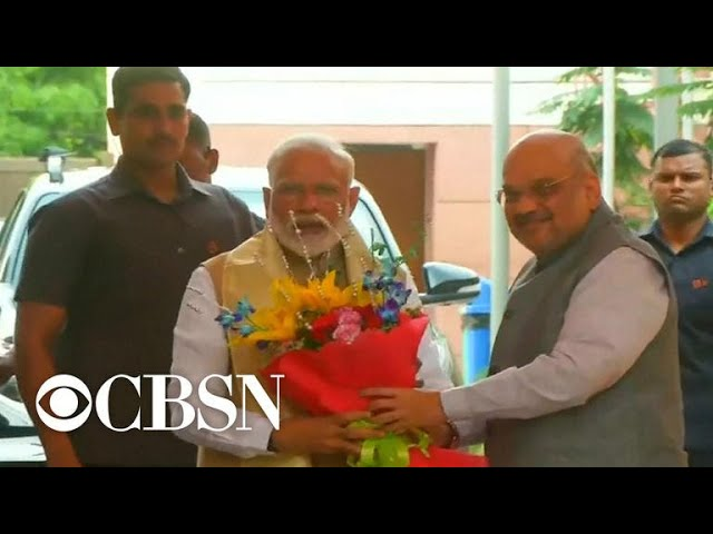 India counts results of world's largest democratic election