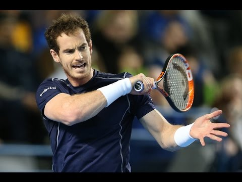 Highlights: Andy Murray (GBR) v Kei Nishikori (JPN)